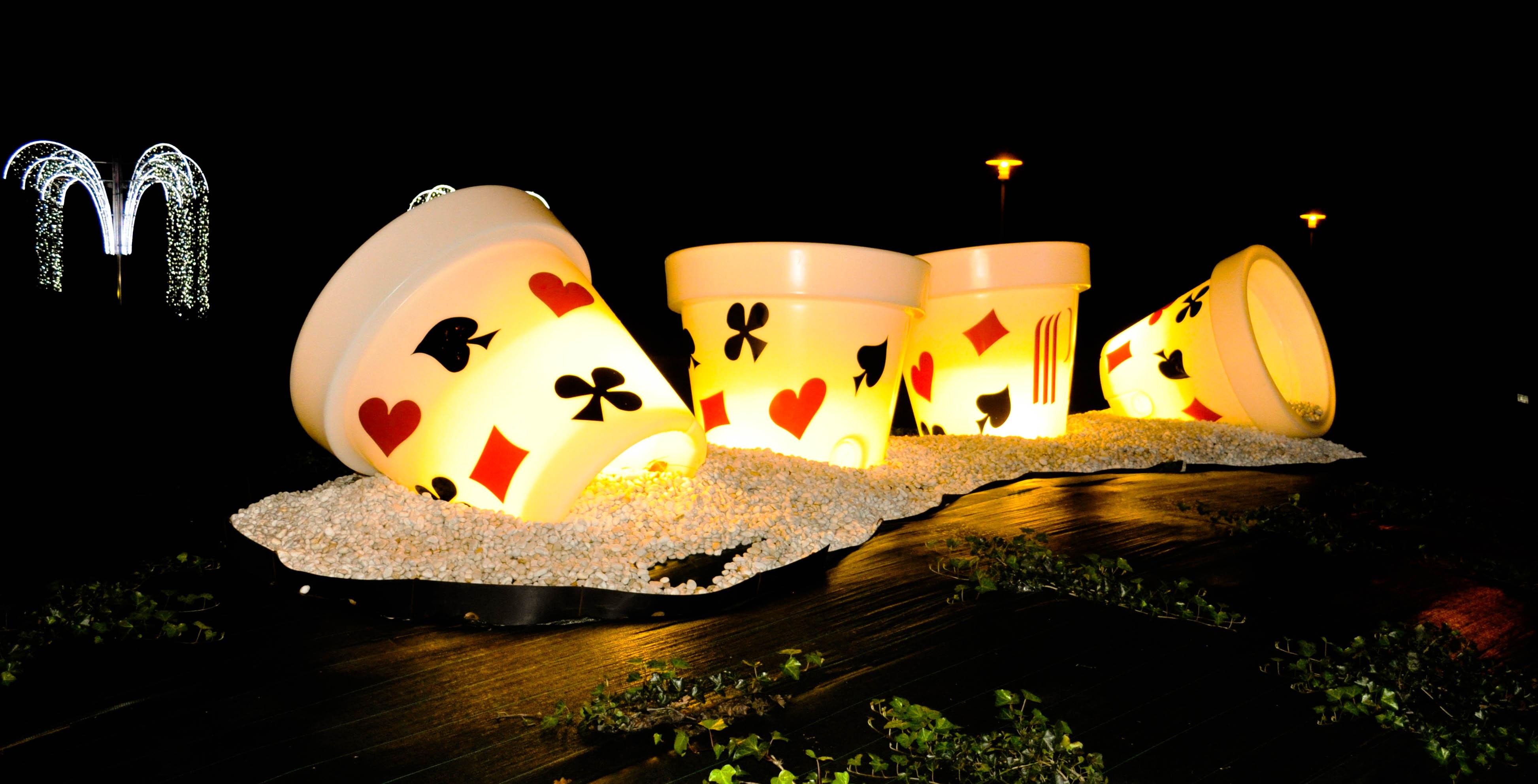 Décoration pour le Casino de Andernos